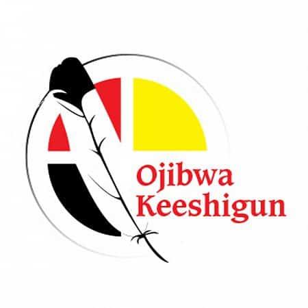 Ojibwa Keeshigun | Logo