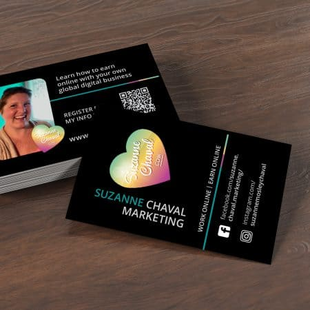 Suzanne Chaval Marketing | Business Cards